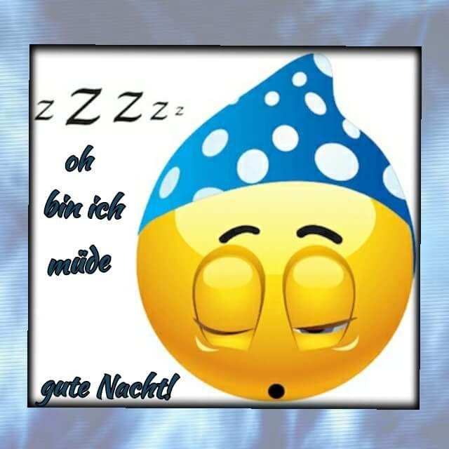 Pin von Angelika auf Smilies & Emoji | Gute nacht, Nacht