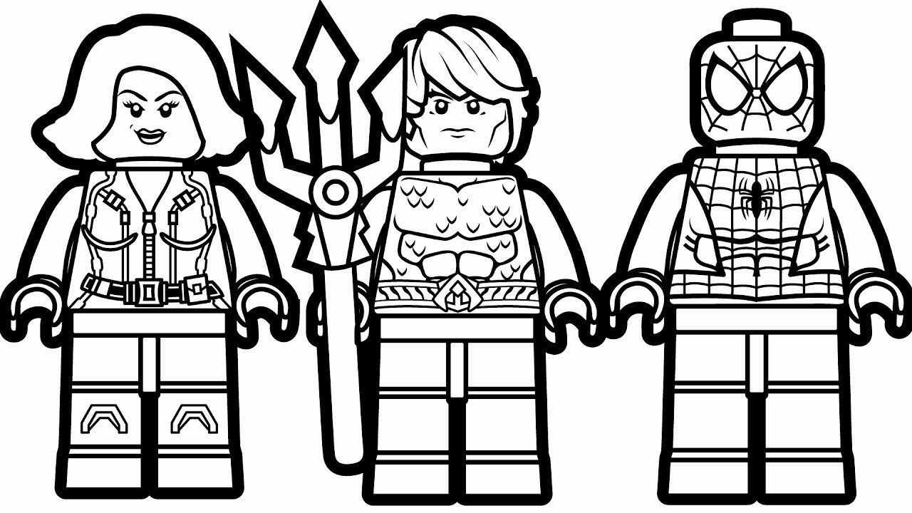 Lego Spiderman Coloring Page Awesome to Lego Spiderman