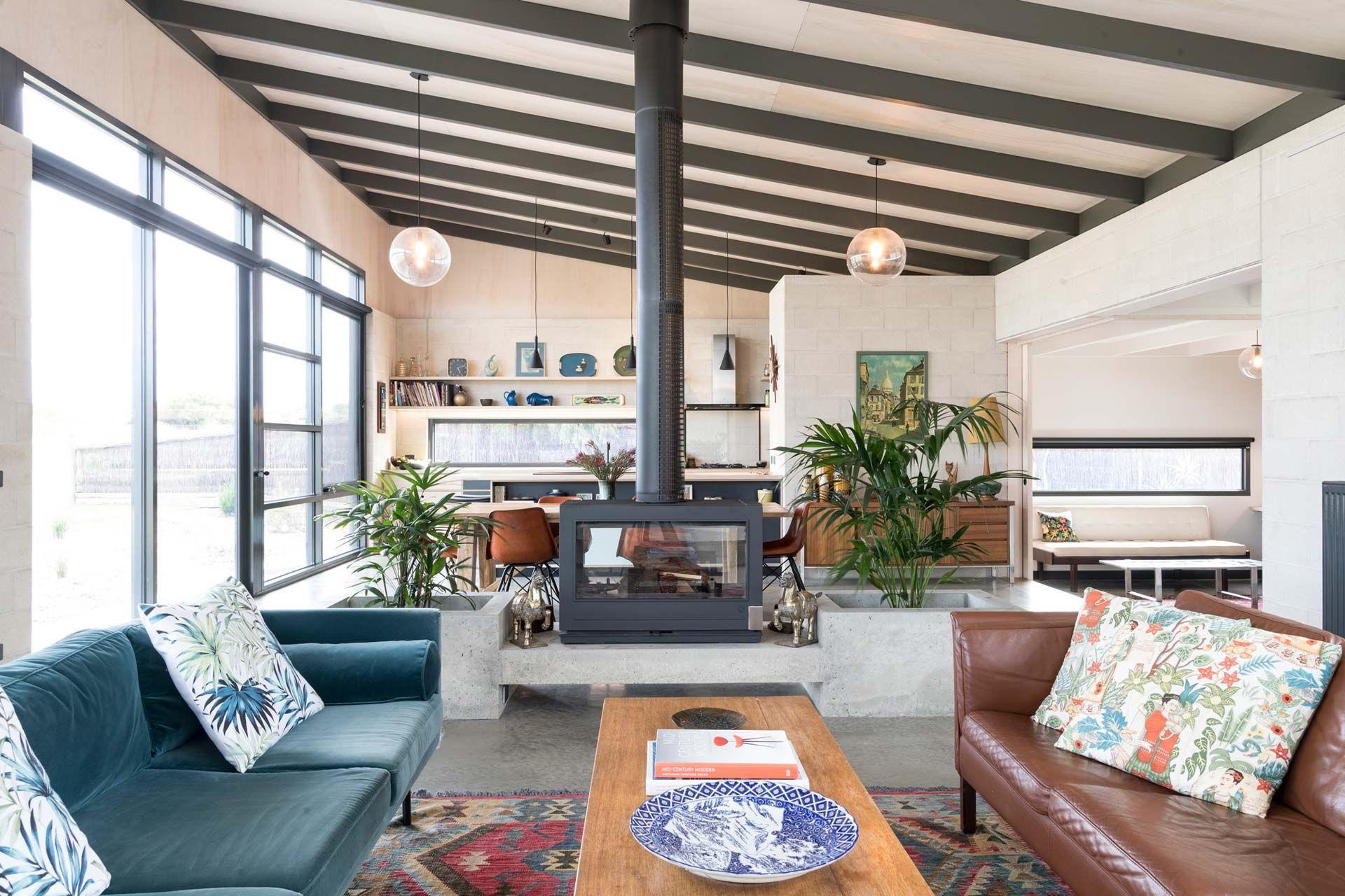 Golf Course House Interior Design Courses Mid Century Modern House Home