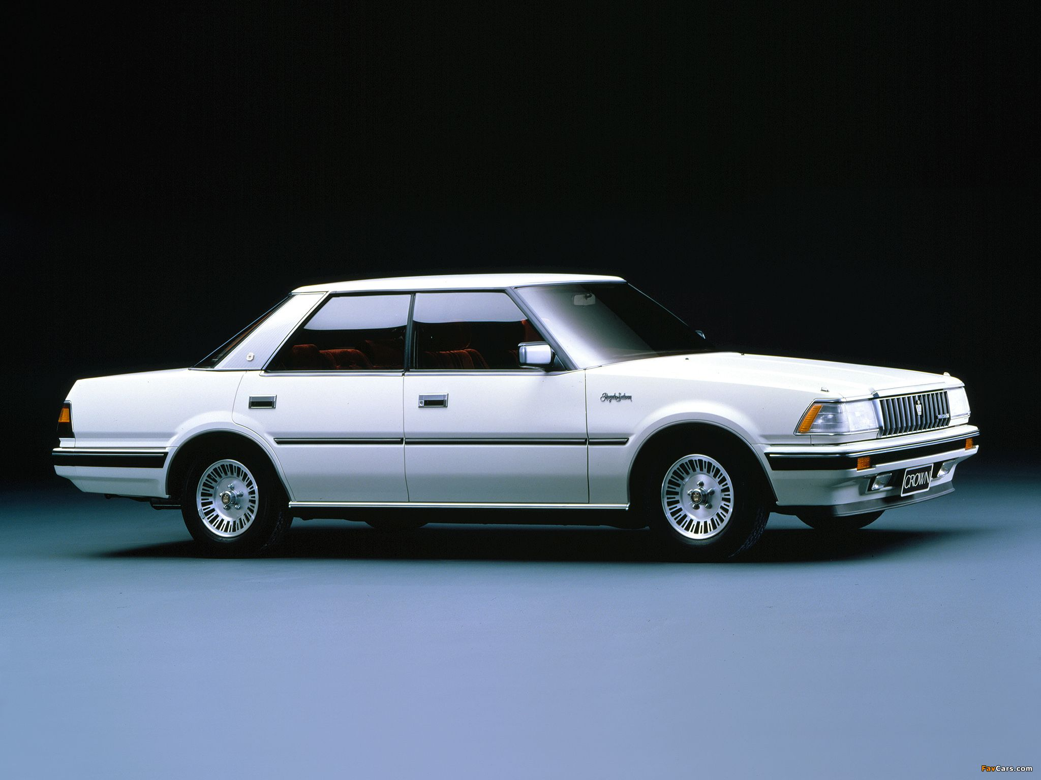 Wallpapers of toyota crown royal saloon s120 1983 87 2048 x 1536
