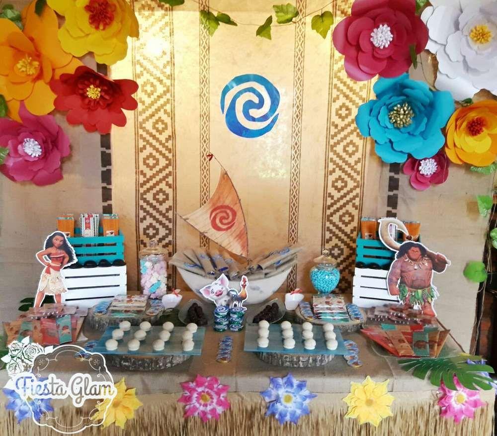 Moana birthday party ideas pinterest decoracion de for Idea de decoracion
