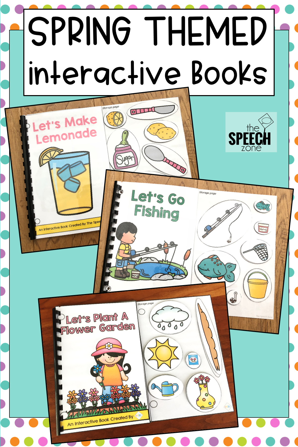 These Spring Themed Interactive Books Are Perfect For