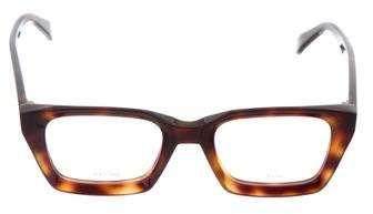 f6319298eb Celine Tortoiseshell Square Eyeglasses w  Tags