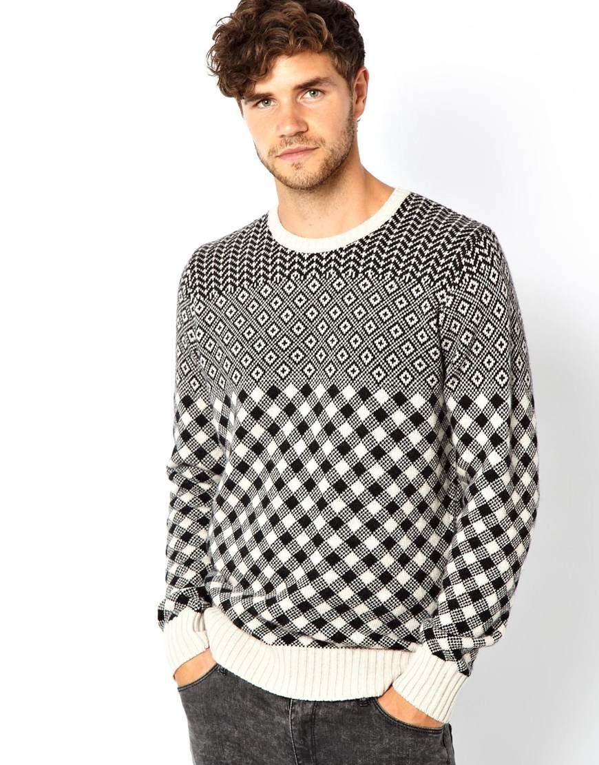PS Paul Smith Jumper with All Over Pattern Latest