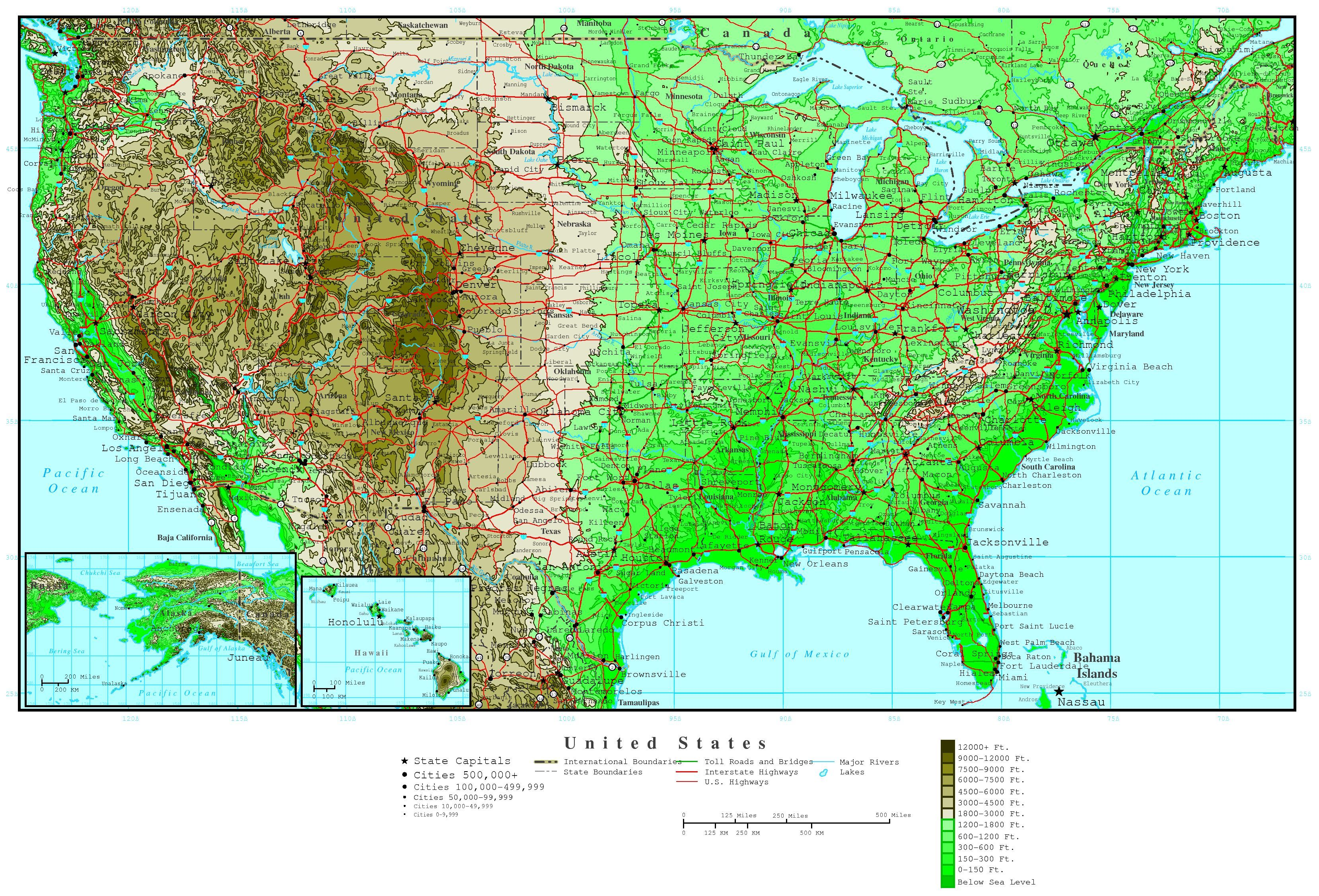United common or topographic data the detailed maps us maps on