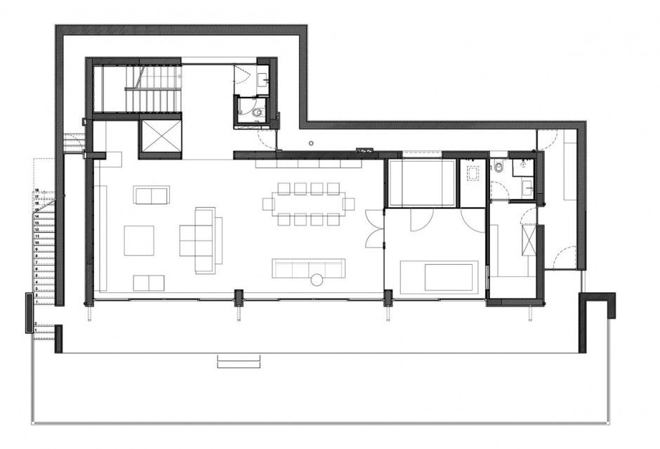 House · Simple S House Design By Tanju Özelgin Wooden Interior