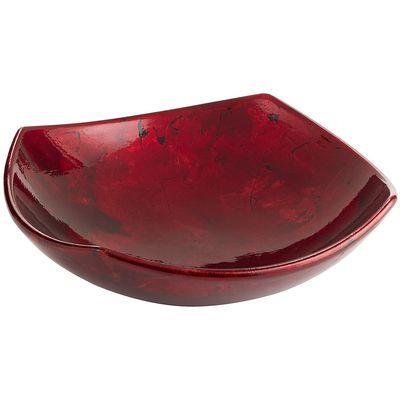 Unique Decorative Bowls Best Red Foil Ceramic Decorative Bowl  Bowls Living Rooms And Design Ideas