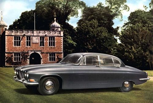 Jaguar Mark X. Launched at the 1961 Earls Court Motor Show ...