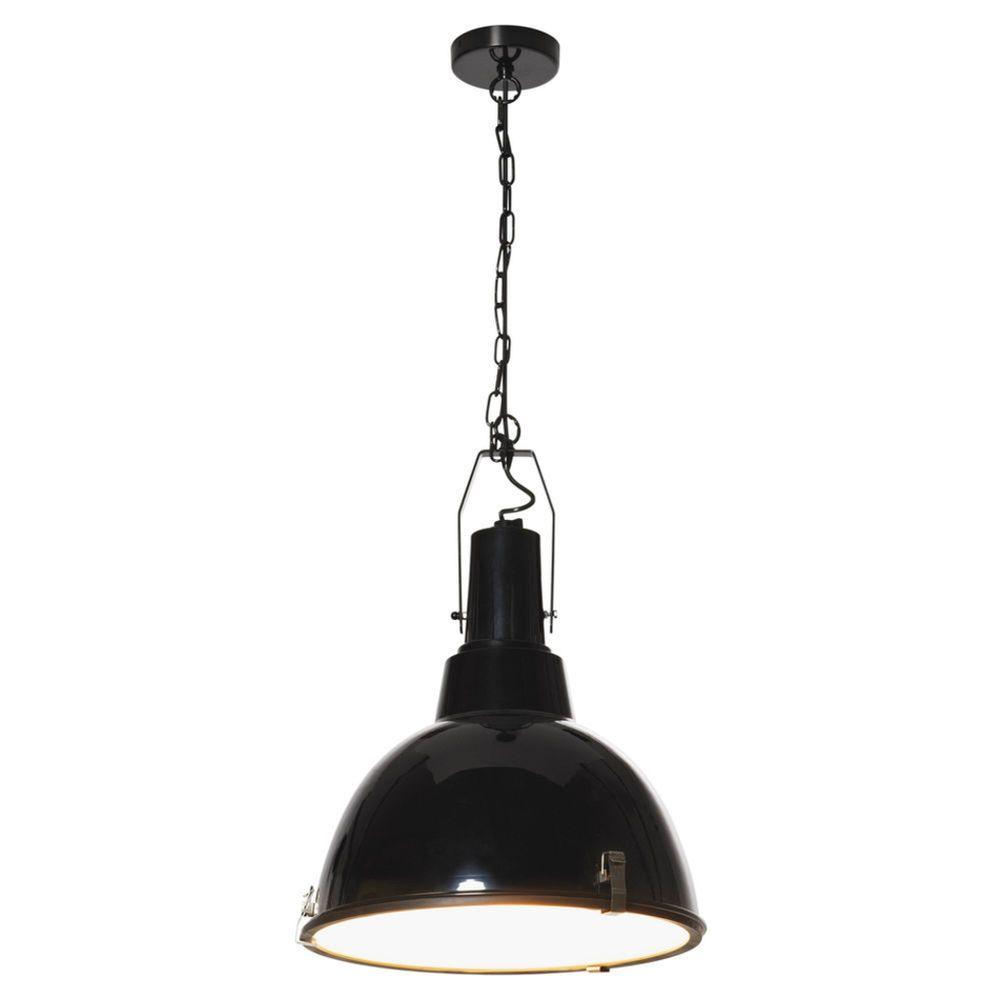 Mort Bay Pendant Clip Lamp Black Metal 99 At