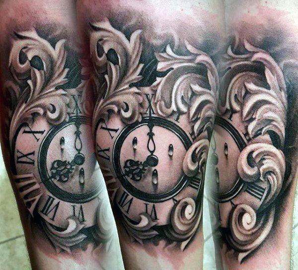 90 de filigrana tatuajes para los hombres Ornamental de
