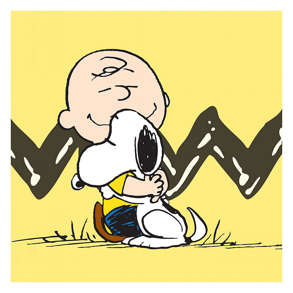 Marmont Hill Peanuts Charlie Brown Snoopy Canvas Wall Art | All ...