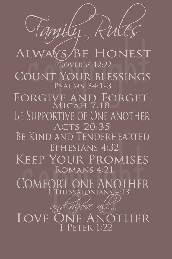 View Source Image Family First Pinterest Family Rules Sayings