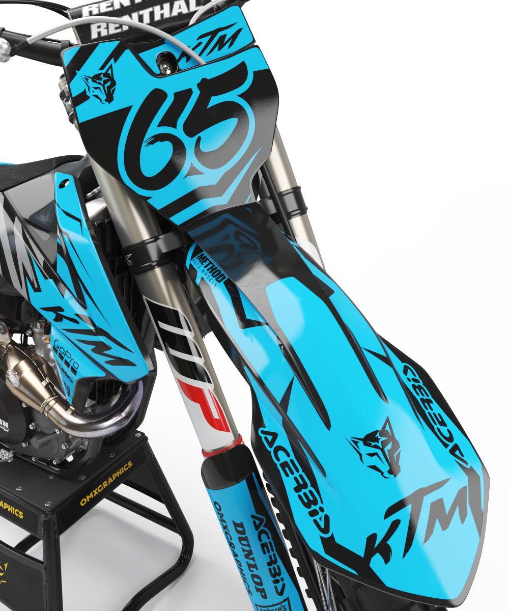 Ktm Ghost Blue Kit 2 Ktm Bike Design New Ktm