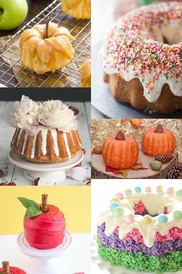 Use These Easy Bundt Cake Decorating Ideas To Make Beautiful Bundt