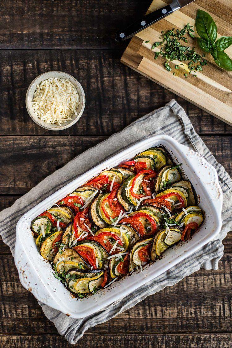 Layered Summer Ratatouille Ratatouille Whole Food Recipes