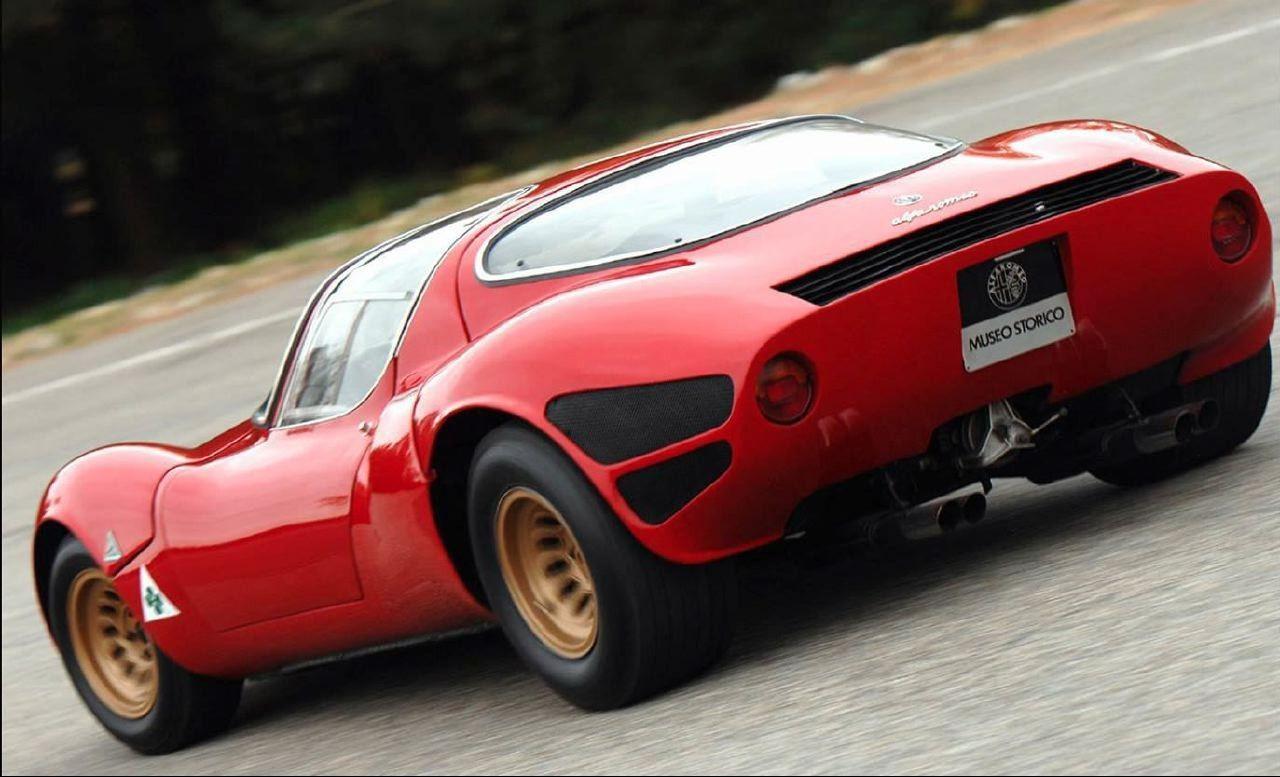 revisiting the 1967 alfa romeo tipo 33 stradale alfa romeo classic cars alfa romeo cars revisiting the 1967 alfa romeo tipo 33