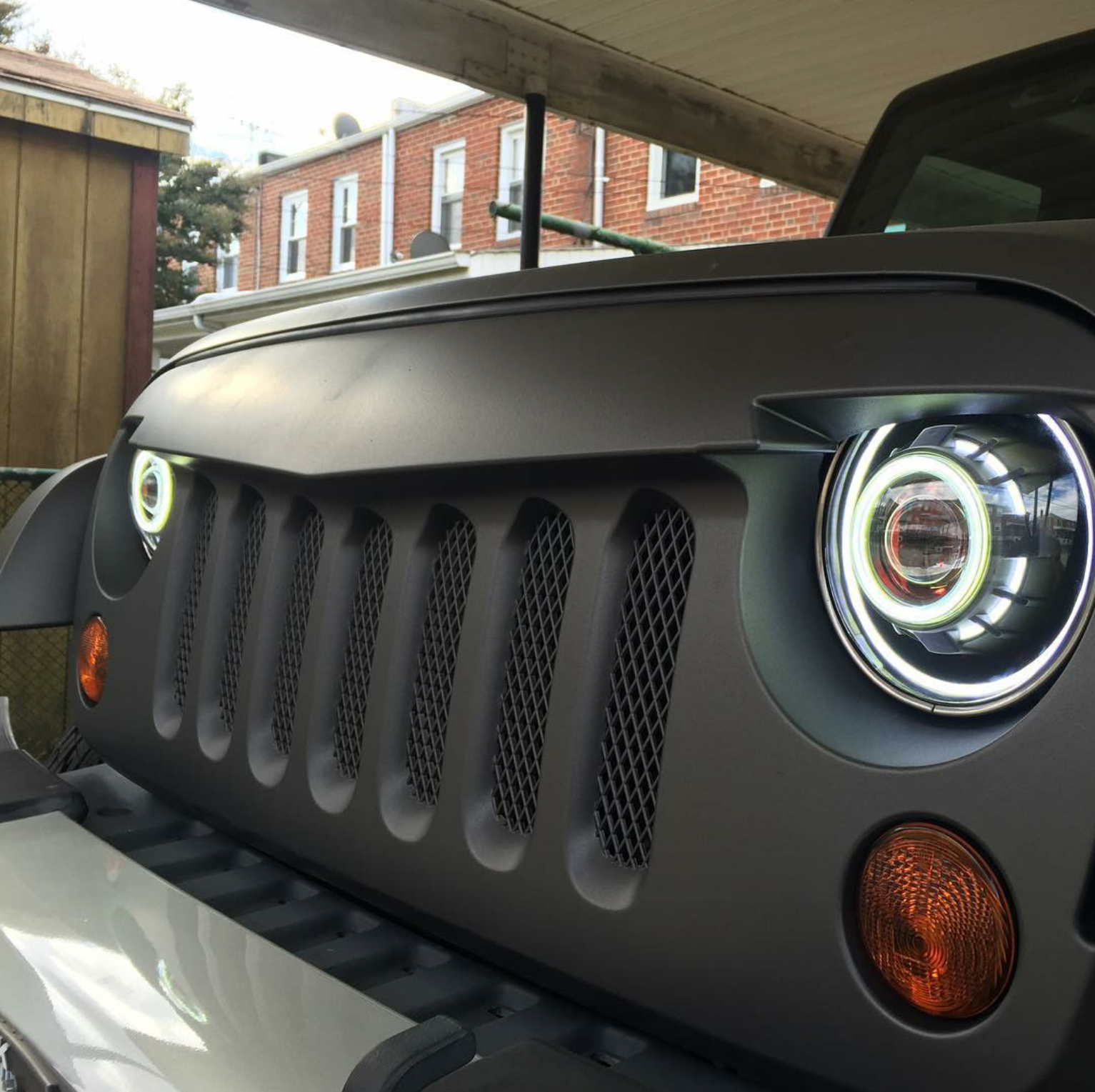 Some Cool Led Headlights For Jeep Jeep Wrangler Headlights Jeep Truck Jeep Liberty
