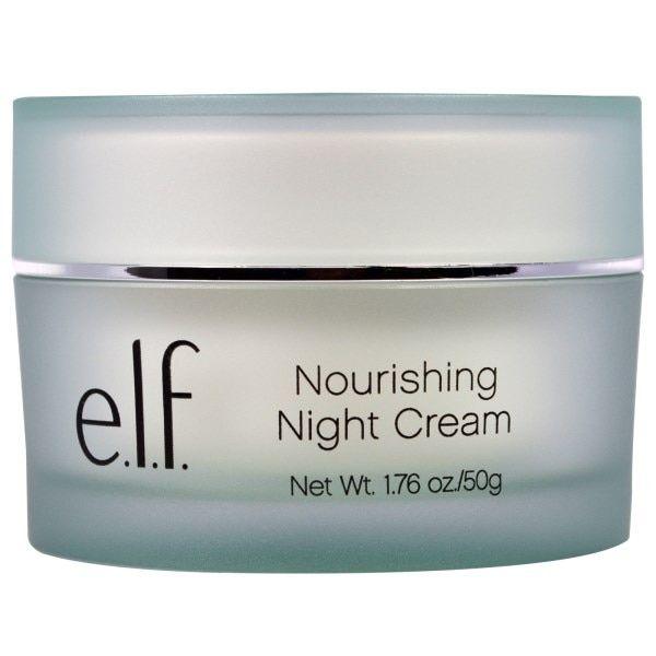 E L F Nourishing Night Cream 1 76 Oz 50 G Moisturizer Cream Night Creams Cream