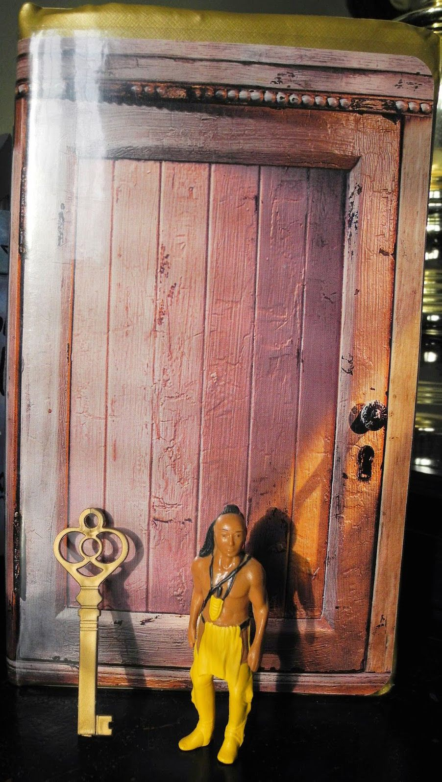Indian In The Cupboard Vhs Cupboard With Indian And Key 1 16 96 Indian In The Cupboard The Good Old Days Mural