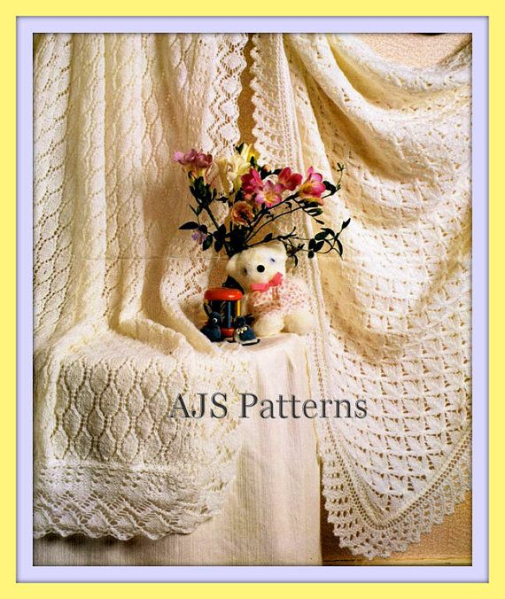 ea6e4b27c5ee7 PDF Knitting Pattern for 2 Pretty Lacy by TheKnittingSheep on Etsy