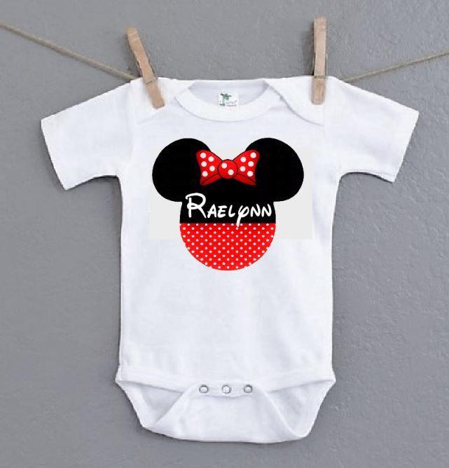 Disney world custom baby name onesie take home outfit personalized disney world custom baby name onesie take home outfit personalized newborn baby girl bodysuit negle Image collections