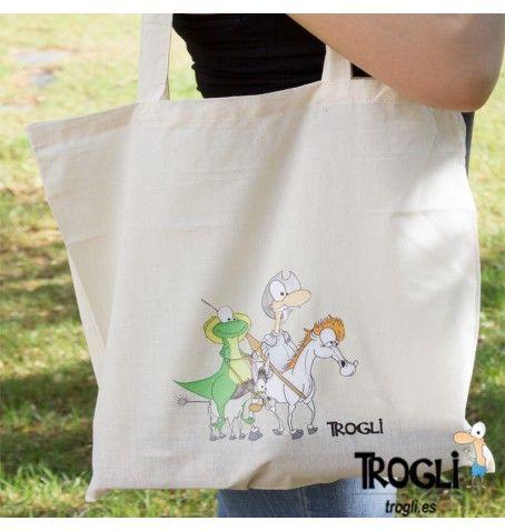 ¿Por qué no recorrer La Mancha?  Bolsa disponible en tienda online.  #bolsa #trogli