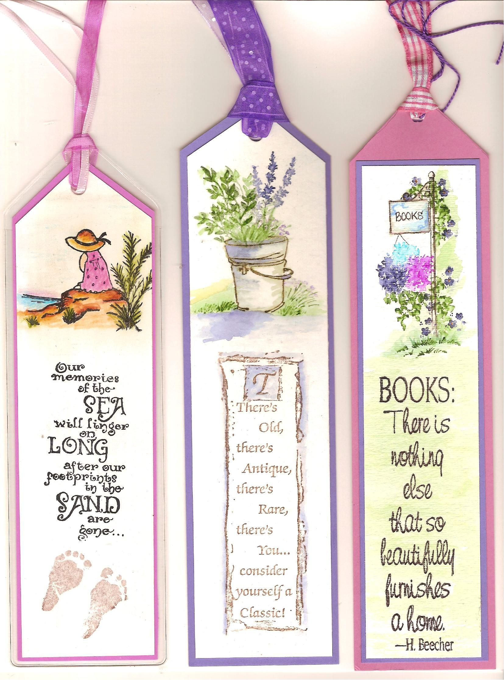 Water Color Book Markers Art Impressions Rubber Stamps Book