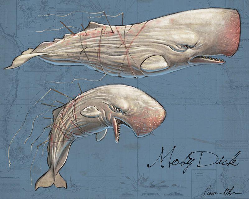 ArtStation - Moby Dick Character Designs, Aaron Blaise