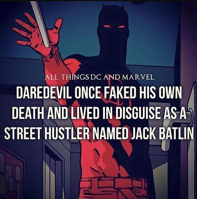 #daredevil #stanlee #marvelcomics #marvel #netflix #jessicajones #lukecage #superherofacts
