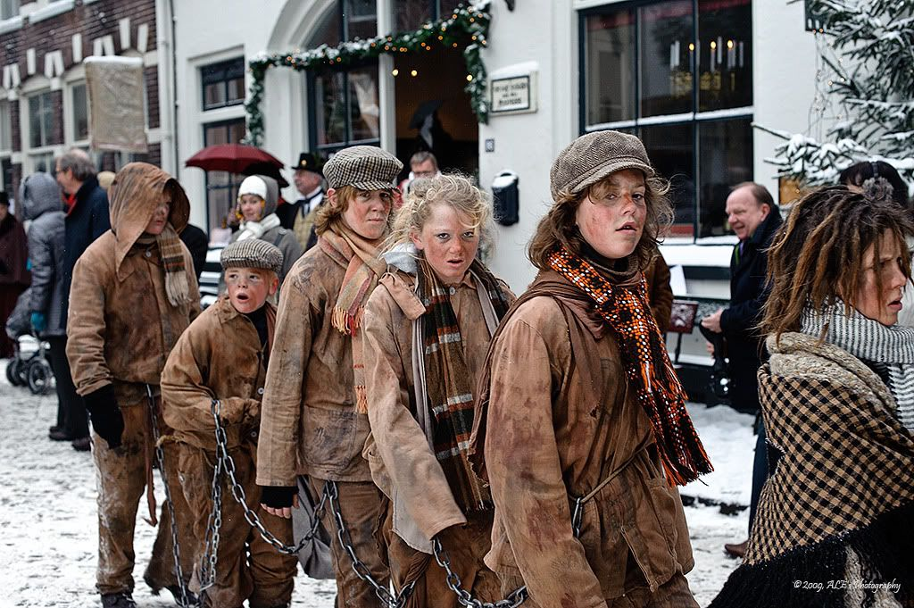 charles dickens festival in #deventer, #netherlands #culture | a
