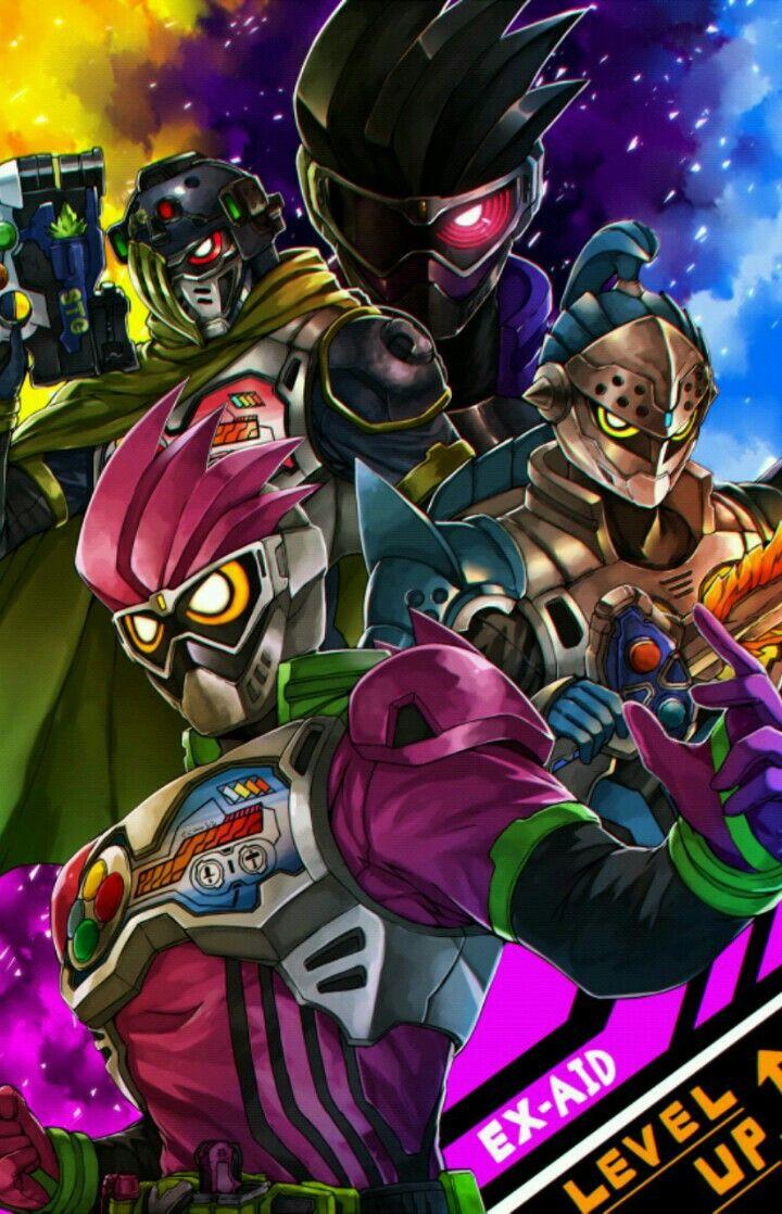 Kamen Rider Ex Aid Animasi Seni Animasi Pahlawan Super