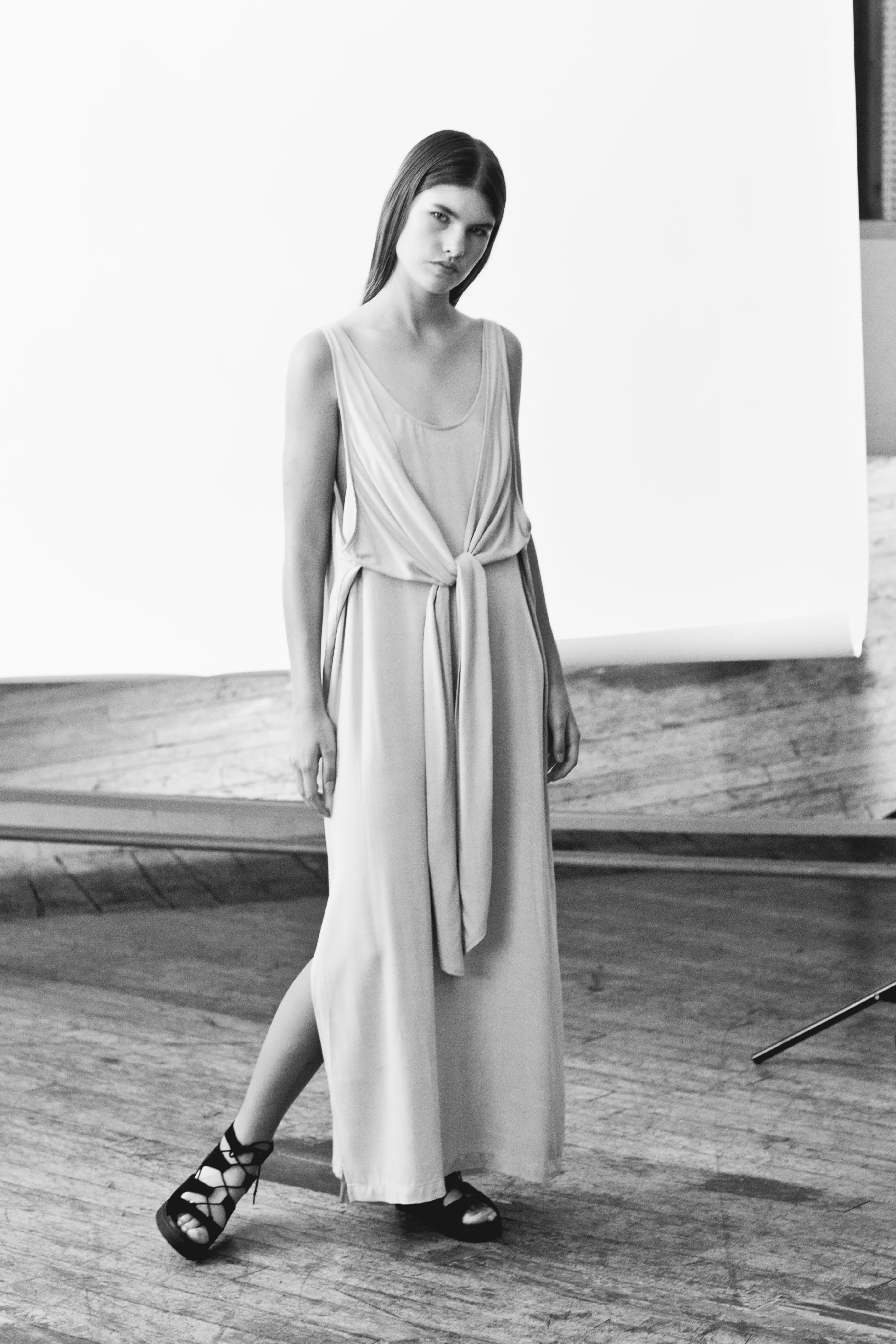 Shaina Mote Spring Summer 2017 Tie Dress Skirt Maxi Dresses