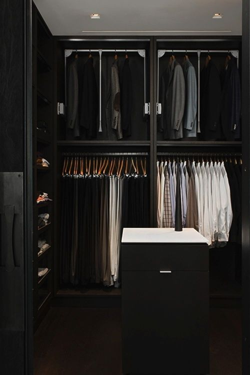 Beau Pinspiration: 35 Masculine Closets U0026 Dressing Rooms   Style Estate