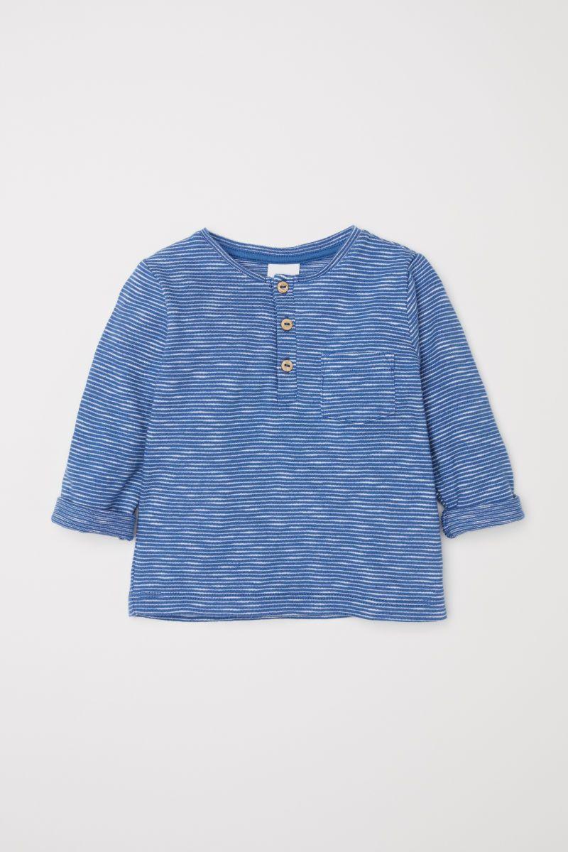 4d6424edad3 Slub Jersey Henley Shirt