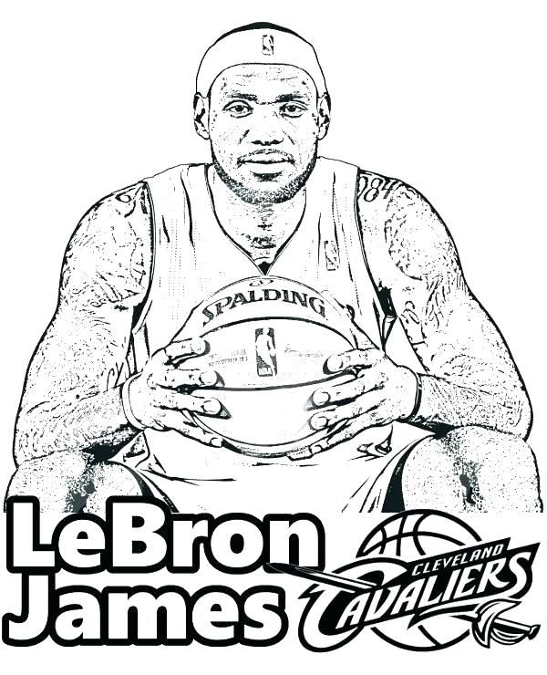 Lebron James Coloring Pages Lakers : lebron, james, coloring, pages, lakers, Coloring, Pages