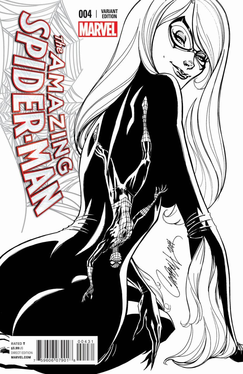 amazing spider-man vol. 3 # 4 (variant)j. scott campbell