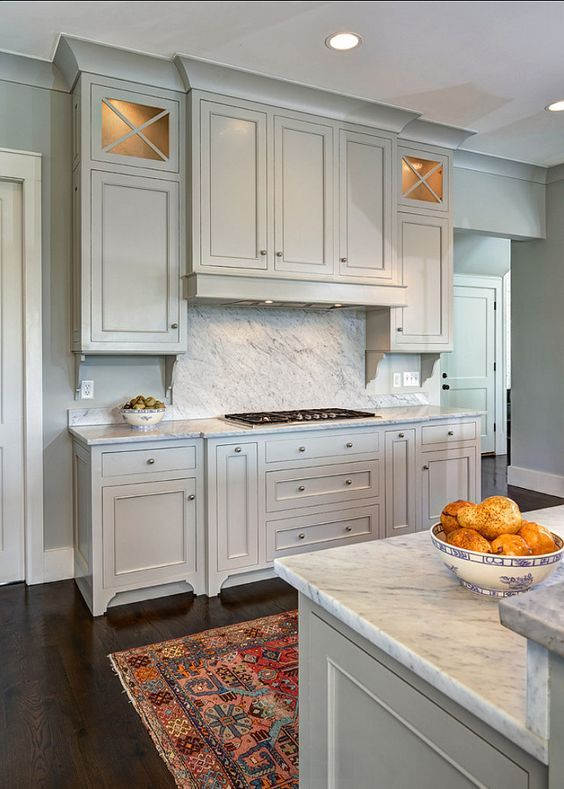 Cabinet Paint Color Trends and How to Choose Timeless Colors ... on gray and white kitchens, gray kitchen cabinet doors, gray cabinets kitchen flooring ideas, painted kitchen cabinet ideas,