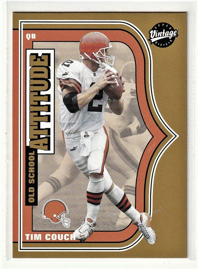 Football Sports Cards - Tim Couch | Tim couch, Sports ...