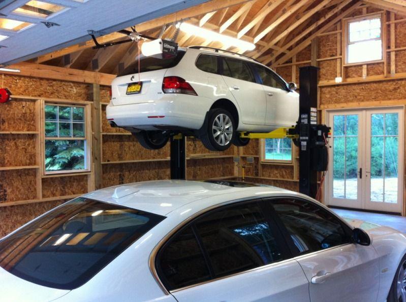 Shop Ideas My 24 X 32 2 Car Garage Build
