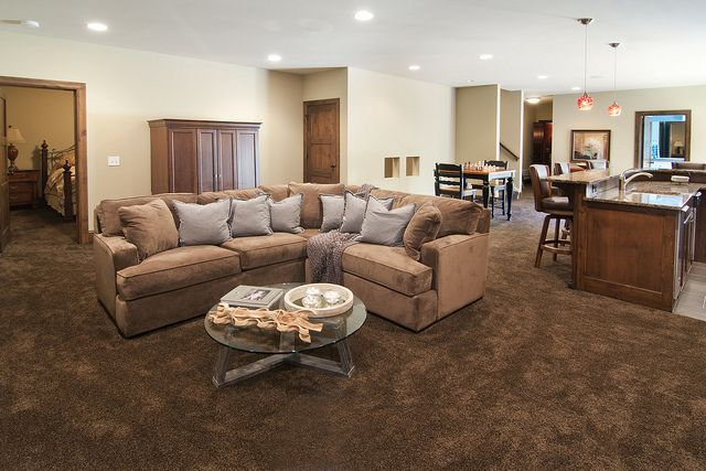 Living Room Carpet Brown This Dark Brown Carpet Really Helps Bring This Office Space Together With The Texture And Colo Brown Carpet Living Room Living Room Carpet Brown Carpet Bedroom