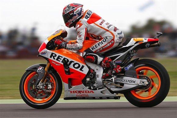 Blog Esportivo do Suiço: Márquez supera Rossi em 1º treino livre para GP da Itália