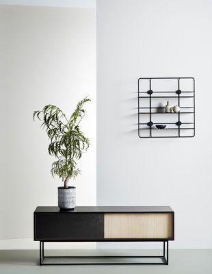 Woud Virka Low Dresser Black Natural Wood Made In Design Uk With Images Furniture New Furniture Decor