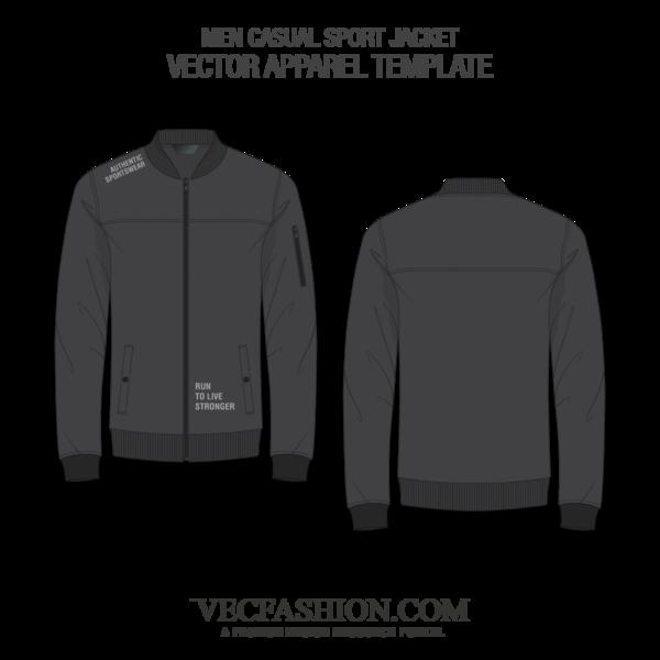 4500 Desain Jacket Vector Template HD Terbaru