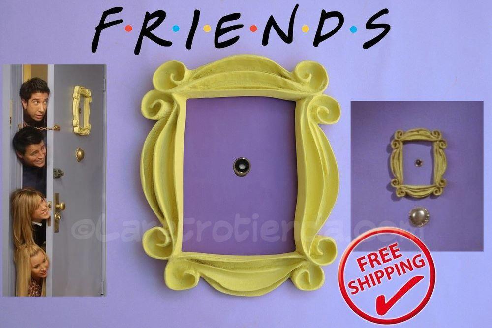 Friends frame tv show, yellow peephole frame monica\'s door, great ...