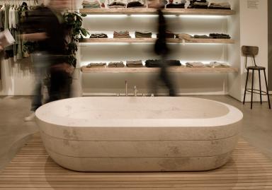 Die schönsten freistehenden Badewannen: Badewanne \