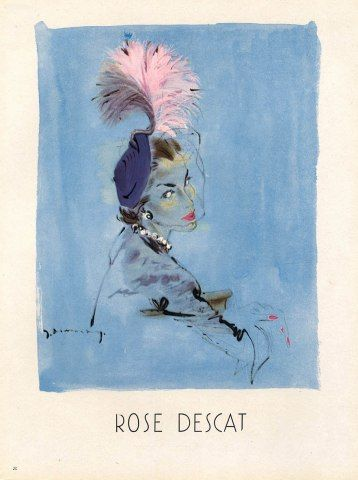 Rose Descat 1949 Jacques Demachy