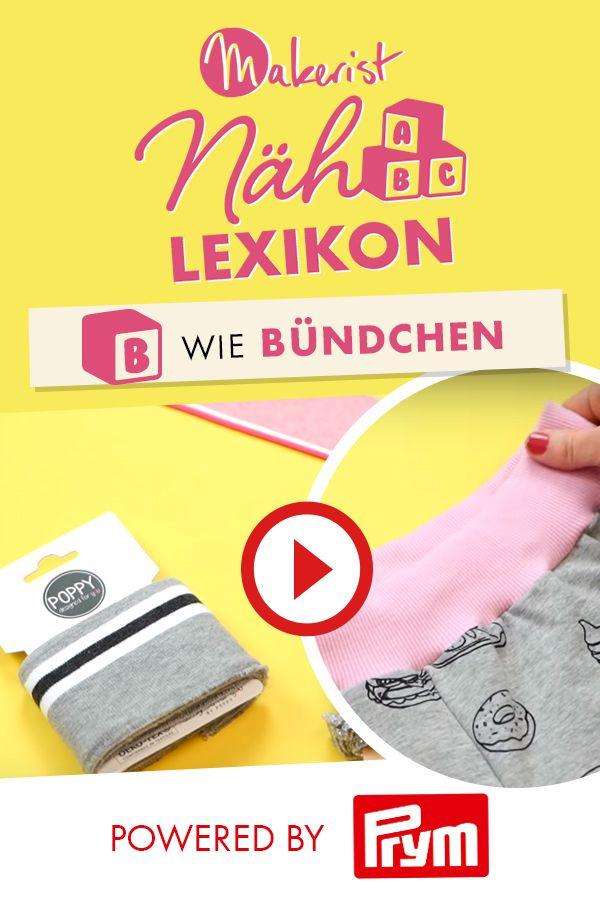 Photo of Bündchen im Makerist Nählexikon – Powered by Prym