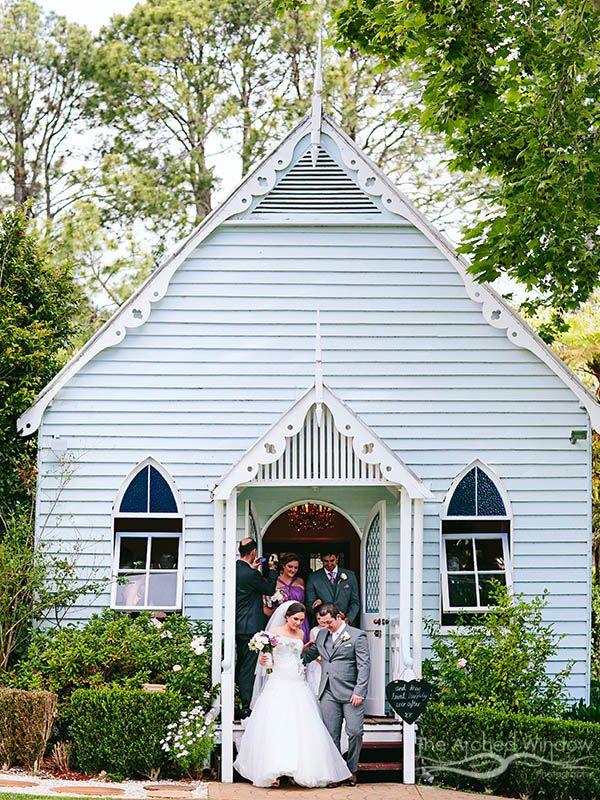 Cute Wedding Chapel At The Old Church In Mt Tamborine