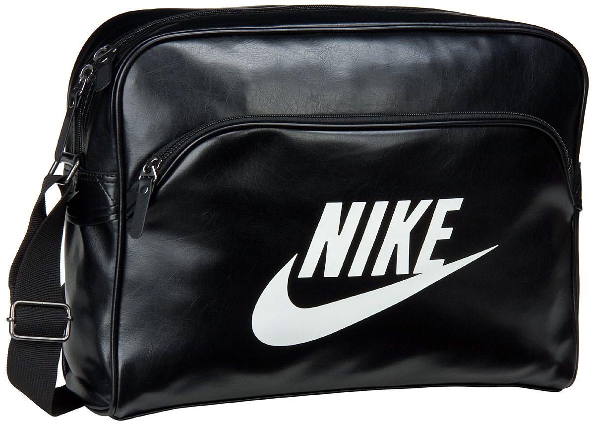 a9937b507bfbf Nike – Heritage SI Track Bag Black Black (Sail) - Nike Heritage SI Track  Bag Black Black (Sail)