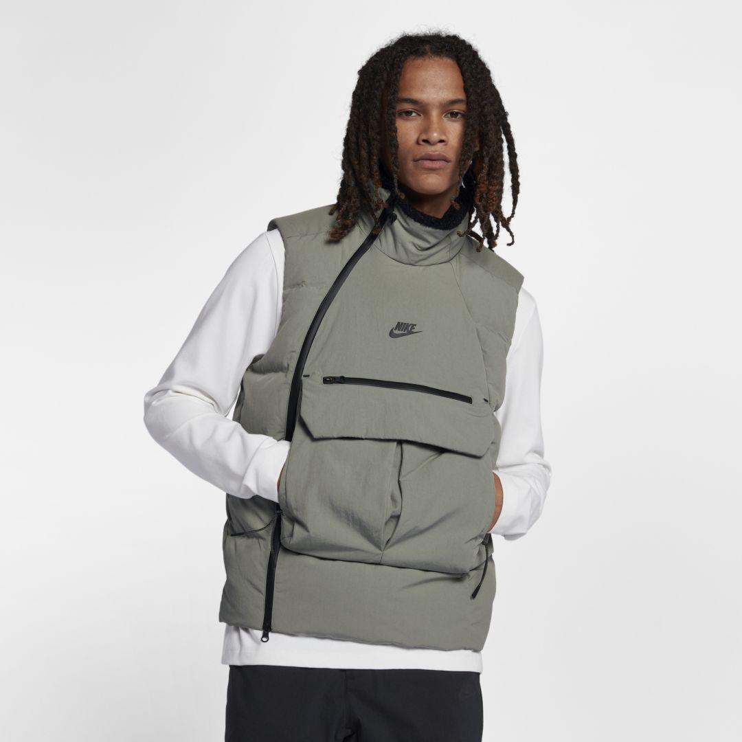 fff28cb7c467 Nike Sportswear Tech Pack Down-Fill Men s Vest Size 2XL (Dark Stucco ...